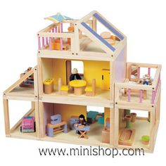 A simple wooden dollhouse will be much played with.  Just today I saw a few of my boys in the classroom playing there for 45 minutes with their animals.