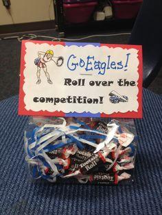 Good Luck treats bags!