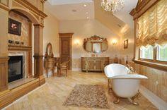 real estat, dreams, dream bathrooms, dream homes, fireplaces