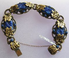 neiger bracelet, glass colour, glasses, blue glass, bracelets, max neiger, blues, neiger jewelri, lapiz blue