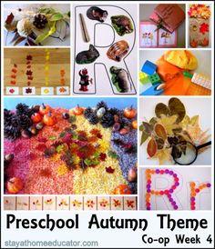 Preschool Autumn Theme
