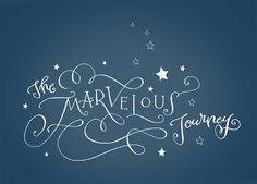 crystals, crystal kluge, type, beauti script, marvel journey, design, blues, typographi, hand lettering
