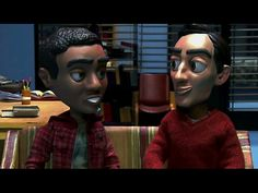 "Troy and Abed take on claymation. ""Troy and Abed in stop motion!"""