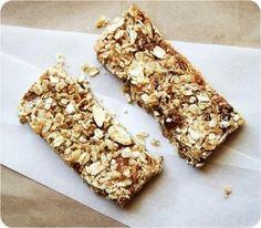 Yum! Homemade granola bars! #snack #recipes #granola #natural