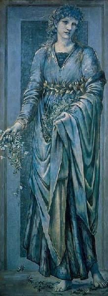 """""""Flora""""  -  Edward Burne-Jones"""
