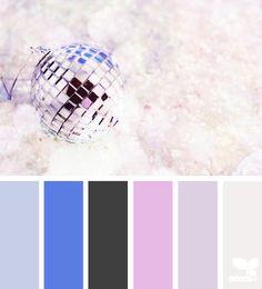 #Colour: Sparkle tones - design seeds