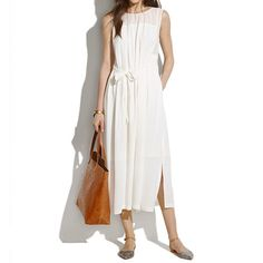 New Arrivals : Women's Dresses, Skirts, Shirts & Tops | Madewell.com bungalow maxidress $188.00  item 44154 5 / 5