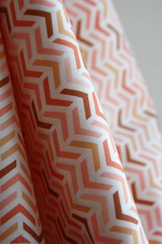 Ripples in Peach by Patty Sloniger from the Les Amis Collection - SewFineFabric