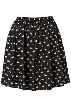 Check out this @Topshop swan print skirt for $68 http://rstyle.me/hfpp4tmtu6