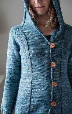 Ravelry: Well Water Hoodie pattern by Suvi Simola