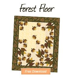 Free Pattern Download - Forest Floor