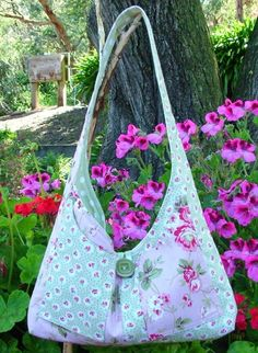 Melly and Me SWEET SIXTEEN Bag Sewing Pattern ABSD Australia.