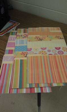 Classroom DIY: DIY Hanging File Folders instructions