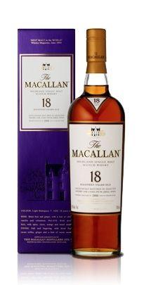 The Macallan Sherry Oak 18  [Single Malt Scotch Whisky]