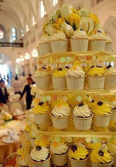 #weddingcake #wedding #cupcakes