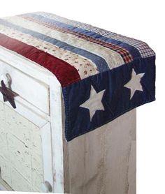 Americana Table Decor.