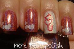 More Nail Polish: Valentine's Nails - I ❤ U