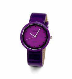 Ladies Purple Black Frame Purple Band Fashion Watch Versales. $14.99. Save 73% Off!