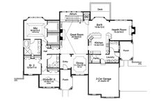 Stylish home has elevator! Cheshire Hills Efficient Home from houseplansandmore.com