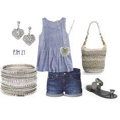 jean shorts, shirts, dream closet, pintuck shirt, silver, dreamcloset, heart denim, jcrew denim, periwinkle blue clothes