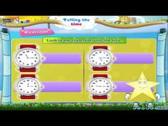 Learn Grade 3 - Maths - Telling The Time