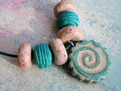 Polymer Clay-Coffee-Chalk-Glaze