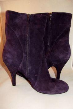 Nine West Purple Suede Boots