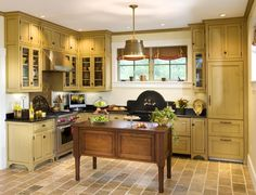 oh, wow..love this kitchen