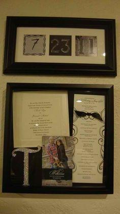 Wedding Keepsake box- cute idea