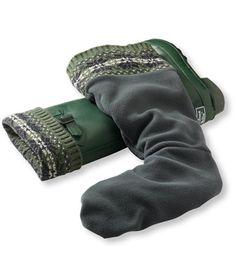 I will need Wellie Warmers in Fairisle Knit.