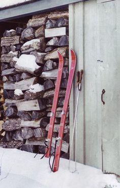vintage skis