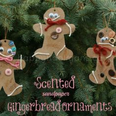 sandpaper gingerbread - Google Search