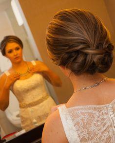 Bride's Updo   The Pros   Theknot.com