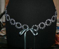 CROCHET CIRCLE BELT by Fashion Martina