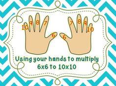 multiplication hand trick
