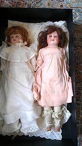 Vintage Antique German Bisque Doll Dolls 1900's
