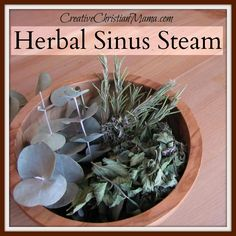 How to Make Herbal Sinus Steam for Sinus Relief