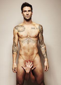 Adam Levine. Nude.