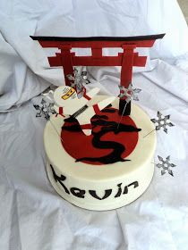 Delectable Cakes: Ninja Birthday Cake