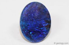 Opal Name Determined by Base Color: Black Opal