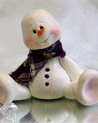 clays, idea, craft, snowmen, polym clay, polymer clay, christma, thing, clay snowman