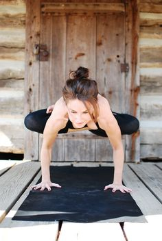 lotus leg crane #yoga