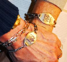 Missing Memo: Walking the Alzheimer's Abyss: Peace of mind in a MedicAlert bracelet. #Alzheimers #Dementia #wandering #MedicAlert #SafeReturn #caregiving