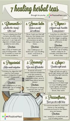 7 Healing Herbal Teas Recipes & What Ailments They Help » The Homestead Survival