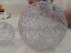 Manualidades y Artesanías | Esferas de alambre | Utilisima.com