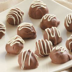 True Love Truffles Recipe from Taste of Home -- shared by Kim Weiesnbach of Claremore, Oklahoma