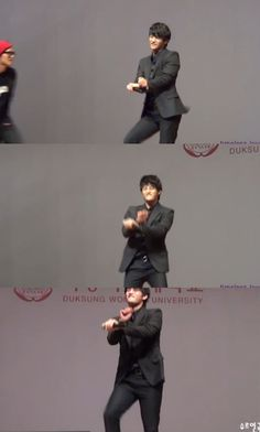 Seo In Guk surprises fans with his 'horse dance' skills