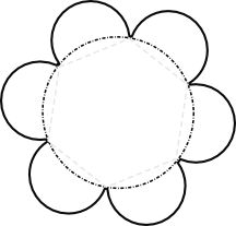 Record details about a topic with this folding flower. The main topic can be written in the middle. The petals fold inward, so they can write facts inside each petal that are revealed when the petals are opened.