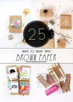 25 Ways to Wrap with
