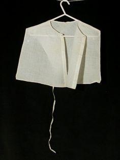 c1800 chemisette. National Trust